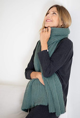 Mer-Sea & Co Chalet Ribbed Scarf Pine
