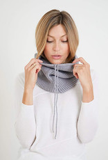 Mer-Sea & Co Anywear Tube Neck Scarf Grey