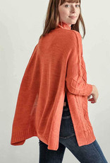 Mer-Sea & Co Lisbon Travel Sweater Orange