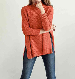 Mer-Sea & Co Lisbon Travel Sweater Orange