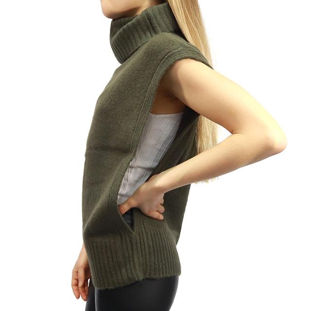 RD International Knit Sweater Burnt Olive