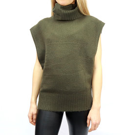 RD International Knit Sweater Burnt Olive