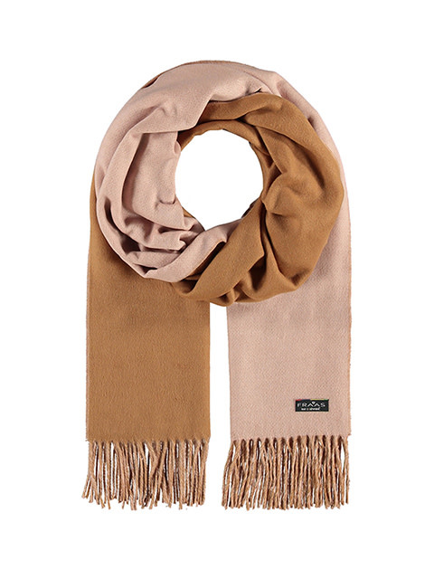 Fraas Double Face Solid Scarf Light Rose