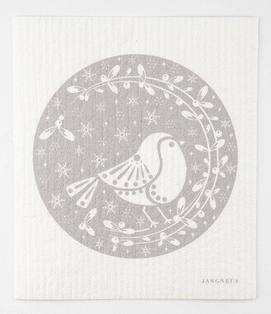 Esthetic Living Swedish Dishcloth Robins Grey
