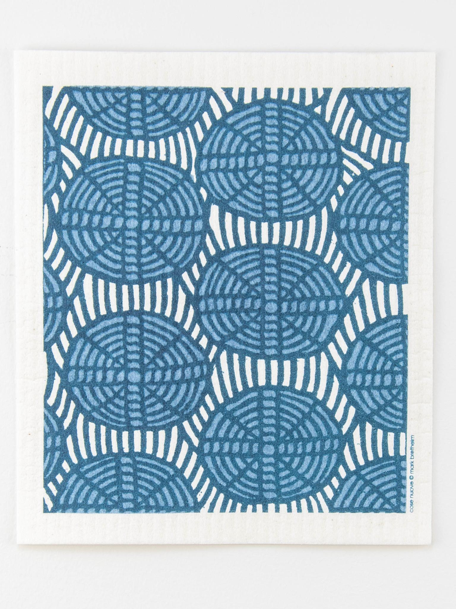 Cose Nuove Swedish Dishcloth Oval Weave Blue