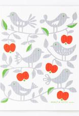 Cose Nuove Swedish Dishcloth Apple & Bird