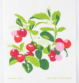 Cose Nuove Swedish Dishcloth Lingonberries