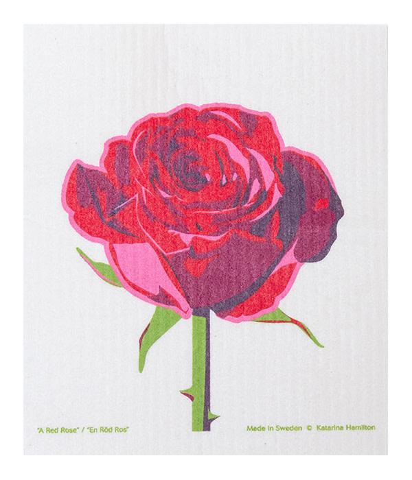 Cose Nuove Swedish Dishcloth Rose Blossom