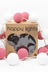 Happy Lights Happy Lights Box White and Pink
