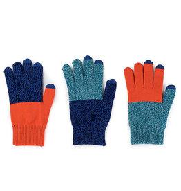 Verloop Pair and Spare Touchscreen Gloves Teal Cobalt Marl