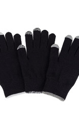 Verloop Pair and Spare Touchscreen Gloves Black