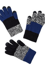 Verloop Kids Pair and Spare Gloves Black Marl