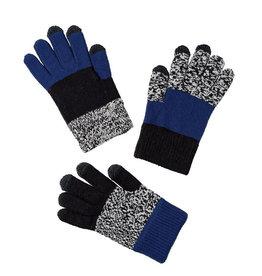 Verloop Kids Pair and Spare Gloves Black Marl