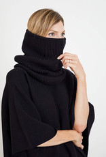 Mer-Sea & Co Anywear Tube Neck Scarf Black
