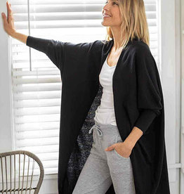 Mer-Sea & Co Chelsea Kimono in Black