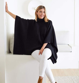 Mer-Sea & Co Anywear Poncho Black