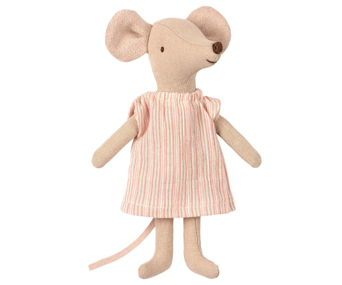 Maileg Mouse Big Sister Dress in Box