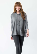 Mer-Sea & Co Lovecycled Hoodie Dark Grey