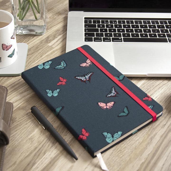 Sophie Allport Fabric Notebook Butterflies