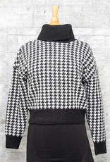 RD International Knit Sweater Houndstooth