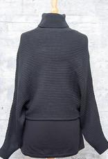 RD International Knit Sweater Short Black
