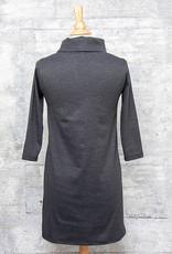 Necessitees Cowl Neck Dress Asphalt