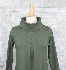 Necessitees Cowl Neck Dress Olive