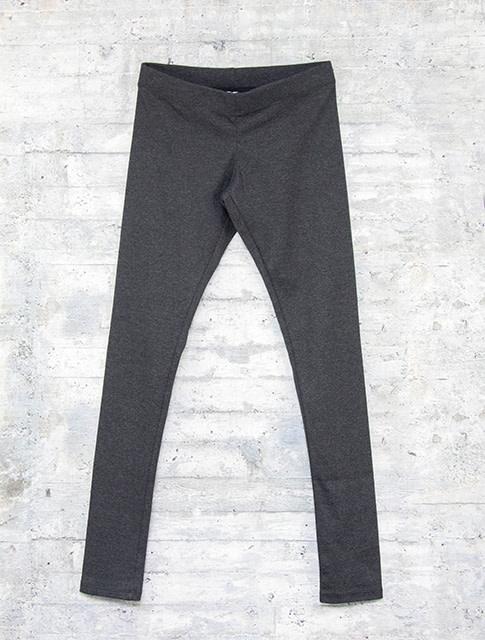Necessitees Long Legging Asphalt