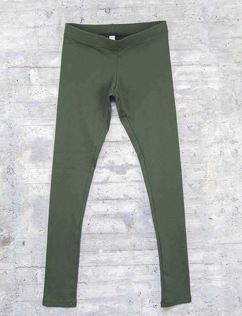 Necessitees Long Legging Olive