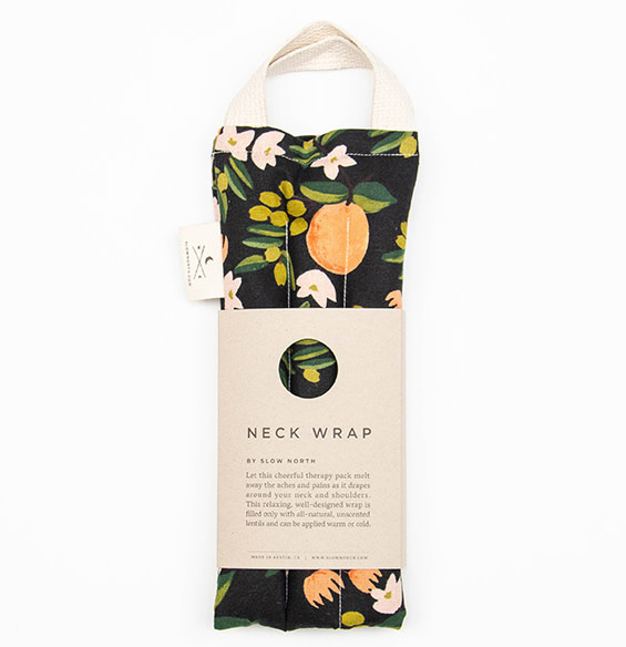 Slow North Neck Wrap Therapy Pack Citrus Floral