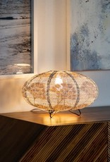 Allsop Home and Garden Stella Solace Table Lamp Oval Yarrow