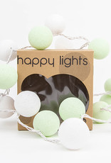 Happy Lights Happy Lights Box White and Light Green