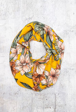 Make Ends Meet Infinity Scarf Lily Mustard