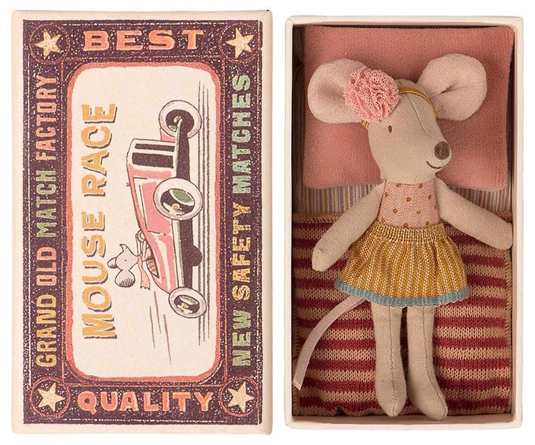 Maileg Mouse Little Sister Polka Dots Shirt