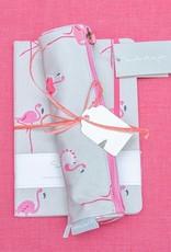 Sophie Allport Bundle Pencil Case & Notebook Flamingos