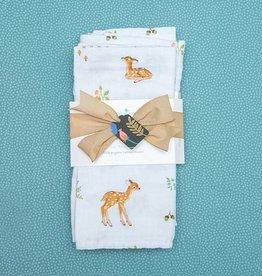 Kreatelier Bundle Cloths & Swaddle Blanket Fawn