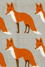 Milkbarn Organic Gown and Hat Set Orange Fox