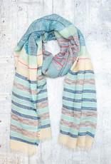 Dupatta Designs Scarf Francisco Blue
