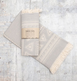 Pokoloko Turkish Towel Devon Light Grey