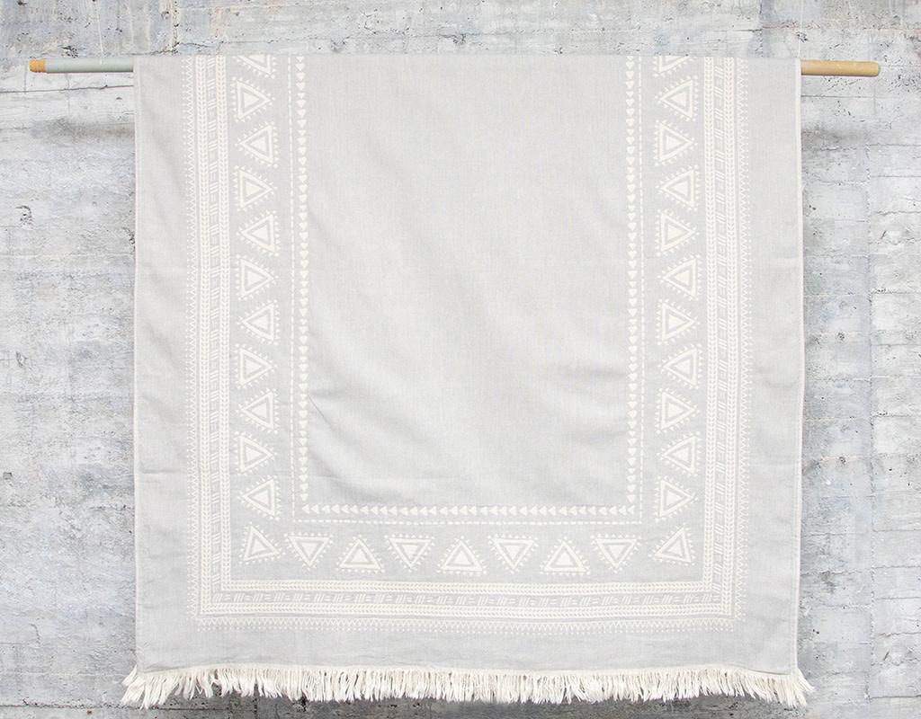 Pokoloko Turkish Towel Devon Light Grey
