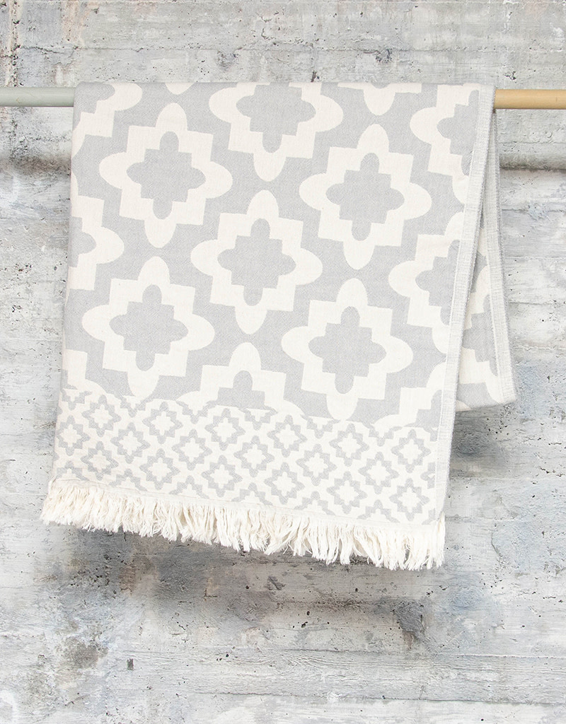 Pokoloko Turkish Towel Palace Grey