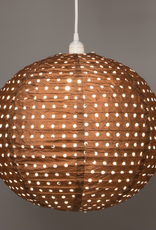 Allsop Home and Garden Pendant Stella Nova Copper Swiss Dot 18""
