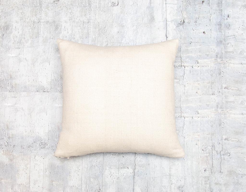 Kreatelier Aztec Pillow in Blue and Orange 15 x 15in
