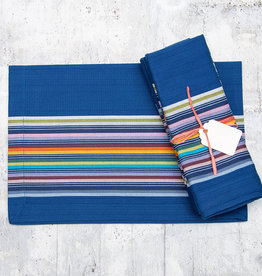 Dash & Albert Lennox Stripe Napkin Set of 4