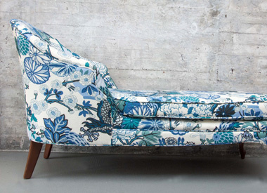 chaise upholstery