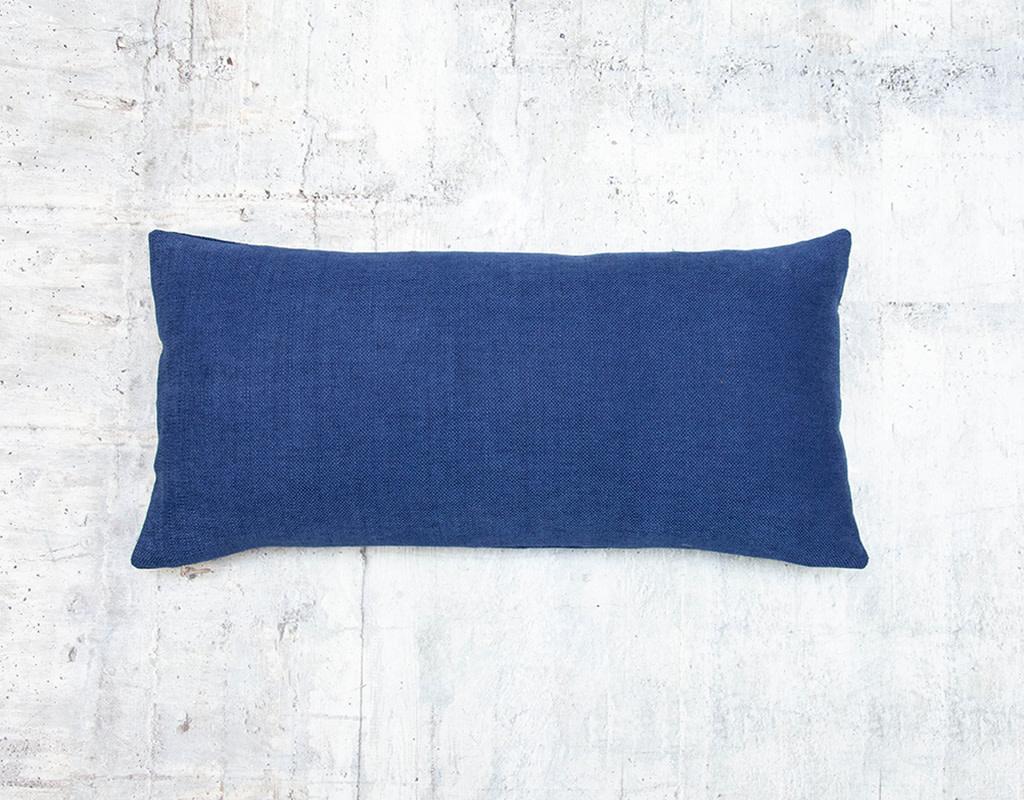 Kreatelier Linara Pillow in Navy 10 x 20in