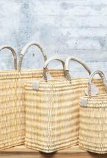 Mer-Sea & Co Medina Market Basket with Natural Leather S