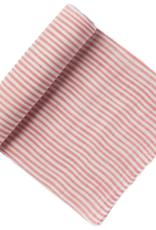 Pehr Designs Swaddle Blanket Striped Pink