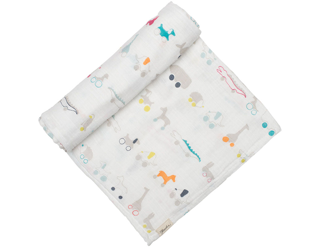 Pehr Designs Swaddle Blanket Pull Toys