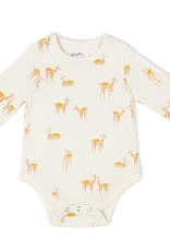 Pehr Designs Organic Shoulder Snap One Piece Deer